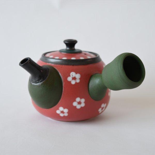 画像1: 陽窯 赤い急須 (1)