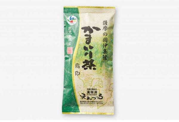 画像1: 釜茶房まえづる かまいり茶 鳥印100g (1)